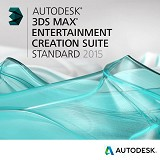 AUTODESK 3ds Max Entertainment Creation Suite Standard 2015 [661G1-G18411-4001] - Software Animation / 3D Licensing